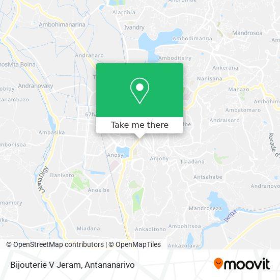 Bijouterie V Jeram map