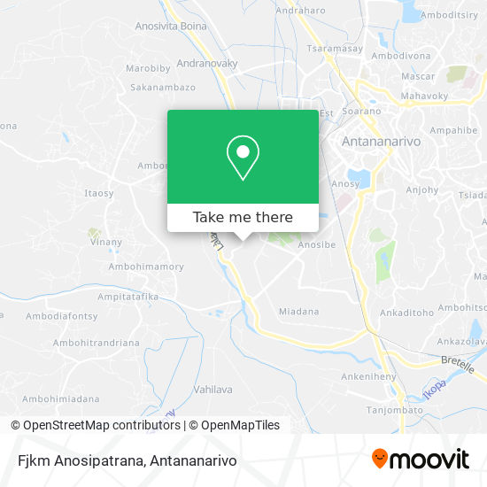 Fjkm Anosipatrana map