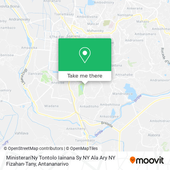 Ministeran'Ny Tontolo Iainana Sy Ny Ala Ary Ny Fizahan-Tany map