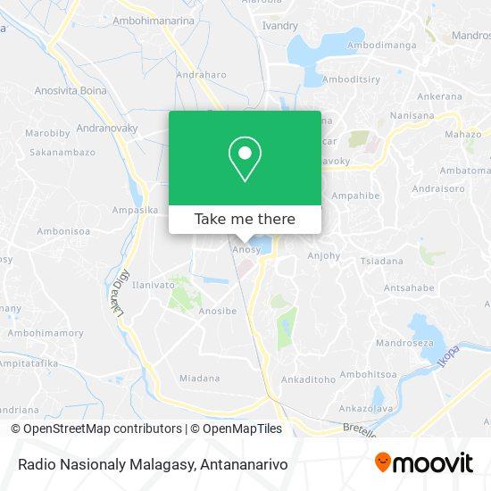Radio Nasionaly Malagasy map