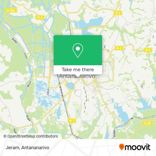 Jeram map