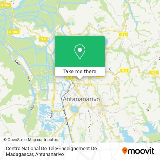 Centre National De Télé-Enseignement De Madagascar map