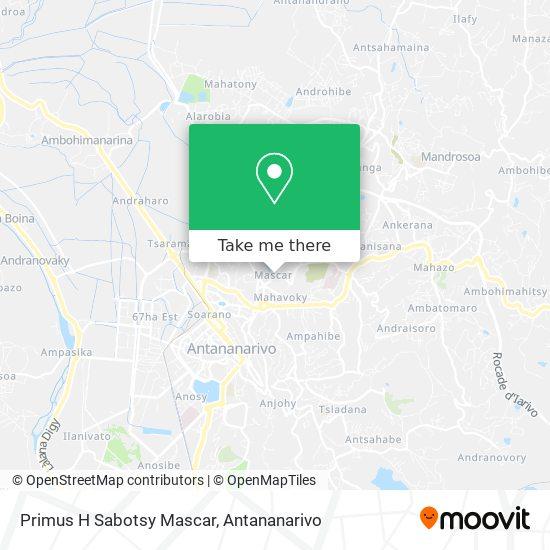 Primus H Sabotsy Mascar map