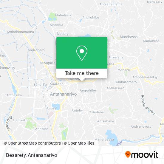 Besarety map
