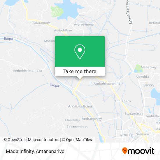 Mada Infinity map