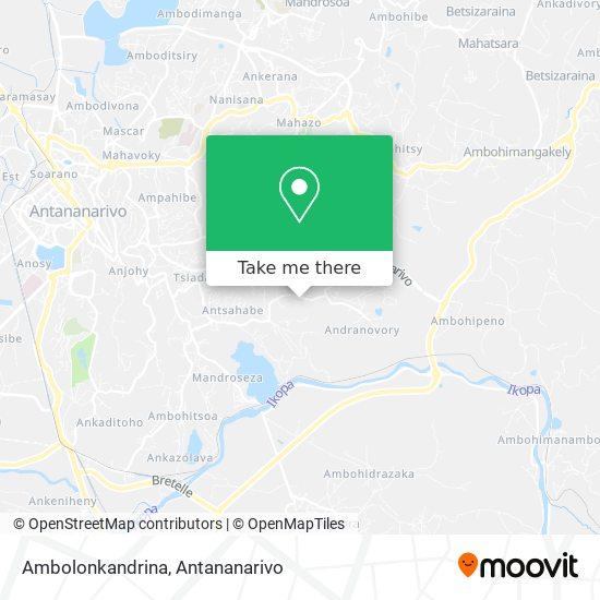 Ambolonkandrina map