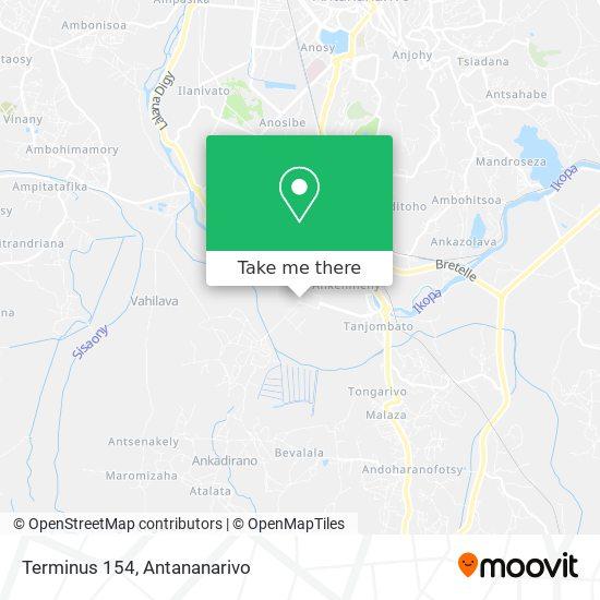 Terminus 154 A Tanjombato-Forello map