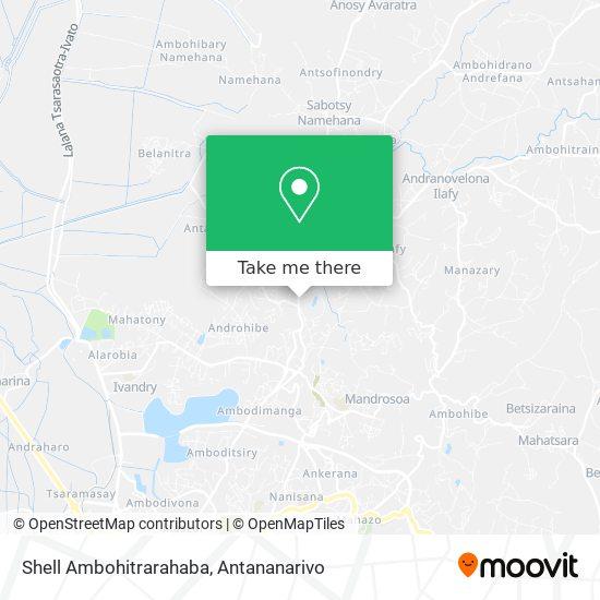 Shell Ambohitrarahaba map
