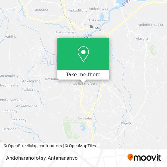 Andoharanofotsy map