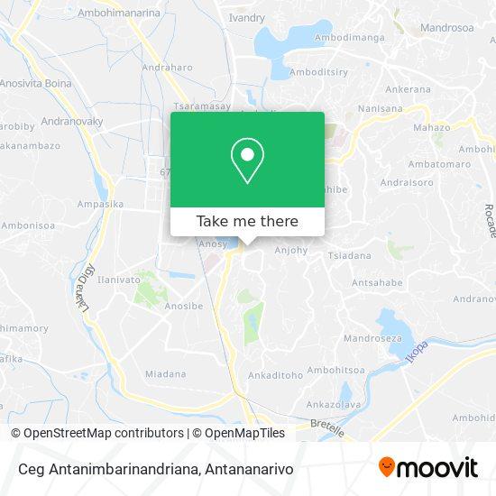Ceg Antanimbarinandriana map