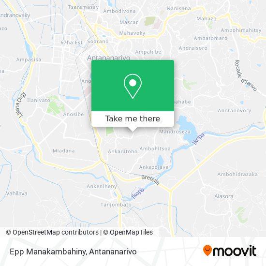 Epp Manakambahiny map