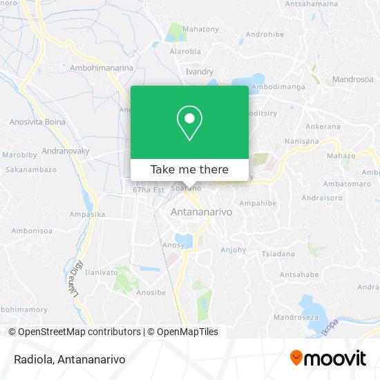 Radiola map