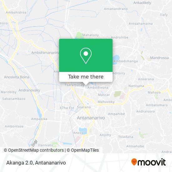 Akanga 2.0 map