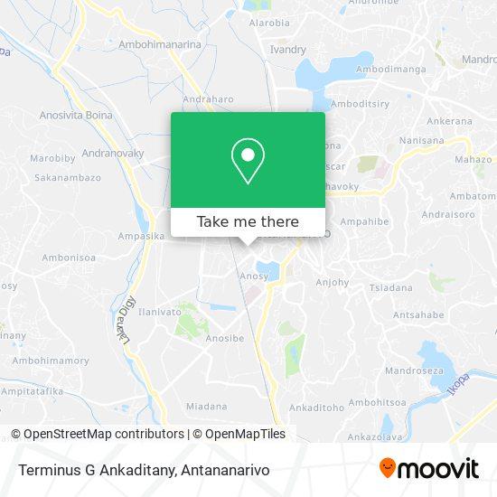 Terminus G Ankaditany map