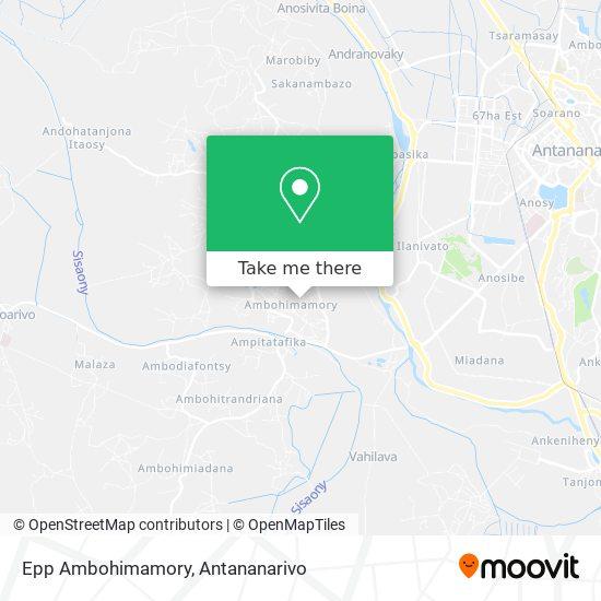 Epp Ambohimamory map