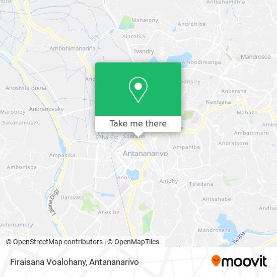 Firaisana Voalohany map