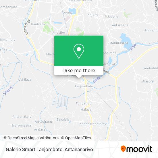 Galerie Smart Tanjombato map