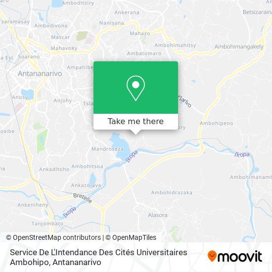 Sicu Ambohipo map