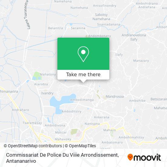 Commissariat De Police Du Viiie Arrondissement map