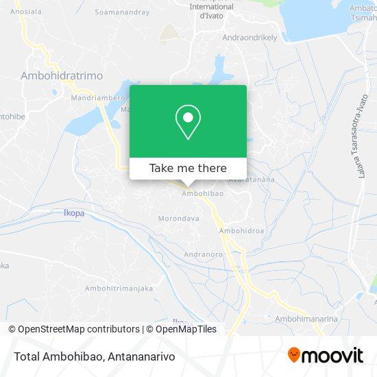 Total Ambohibao map