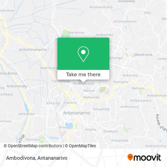 Ambodivona map