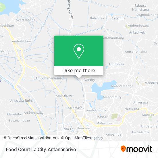 Food Court La City map
