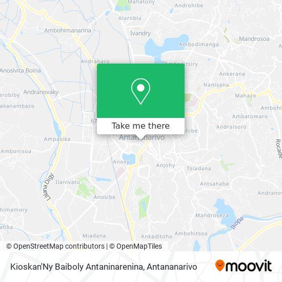 Kioskan'Ny Baiboly Antaninarenina map