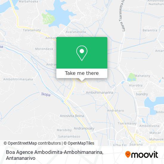 Boa map