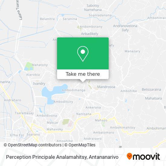 Perception Principale Analamahitsy map