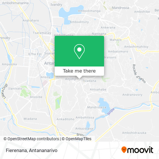 Fierenana map