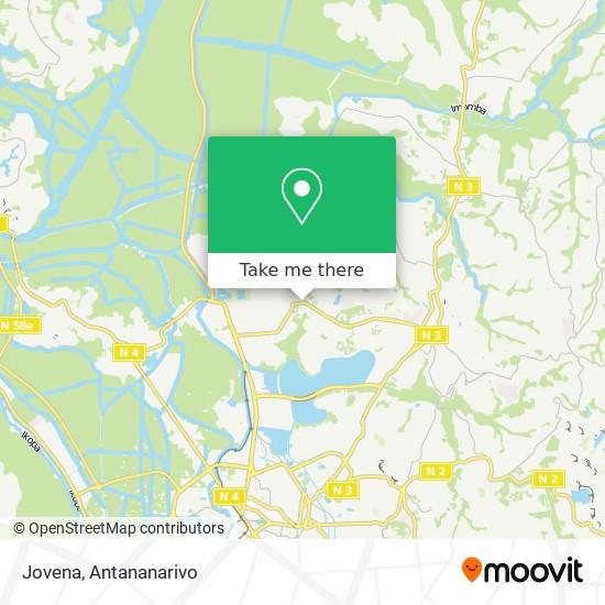 Jovena map