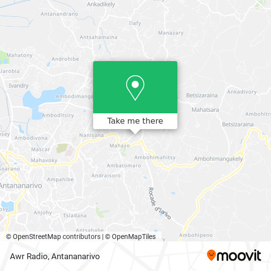 Awr Radio map