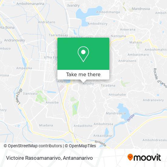 Victoire Rasoamanarivo map