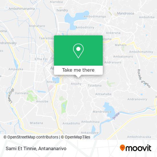 Sami Et Tinnie map
