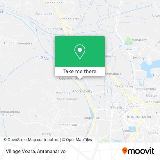 Village Voara map