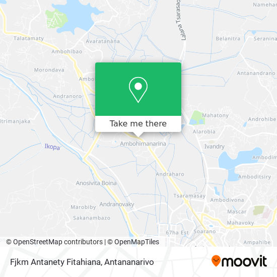 Fjkm Antanety Fitahiana map
