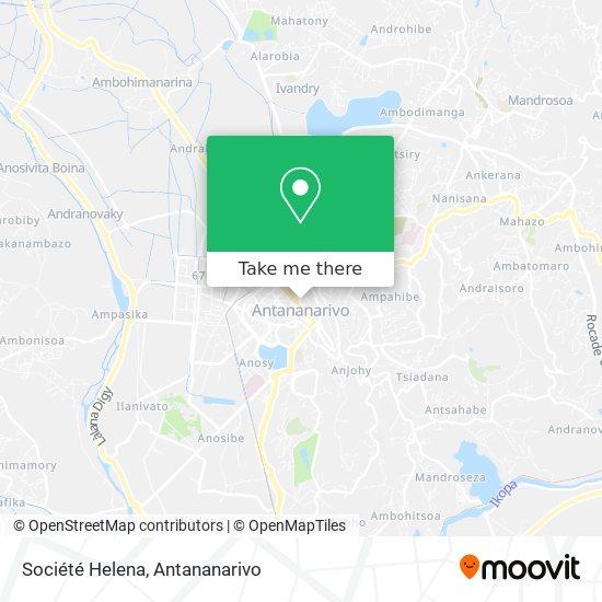Société Helena map