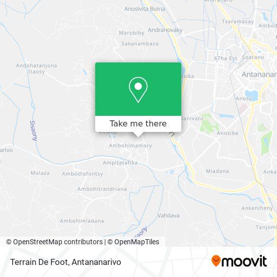 Terrain De Foot map