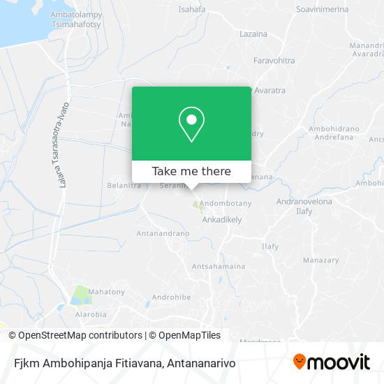 Fjkm Ambohipanja Fitiavana map
