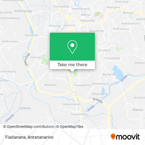Fiadanana map