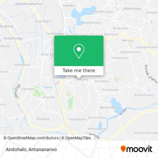 Andohalo map