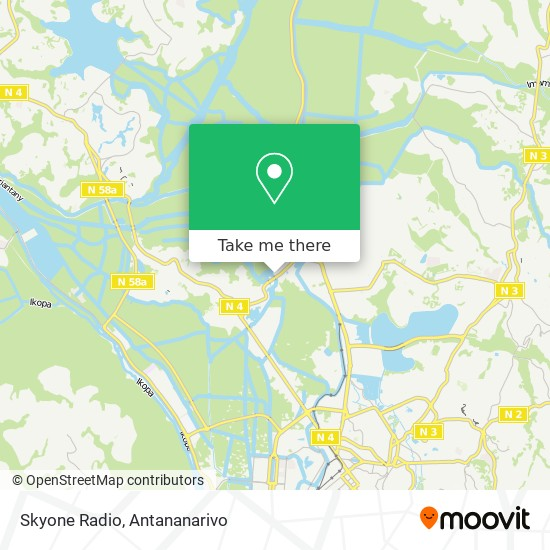 Skyone Radio map