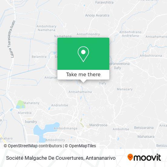 Société Malgache De Couvertures map