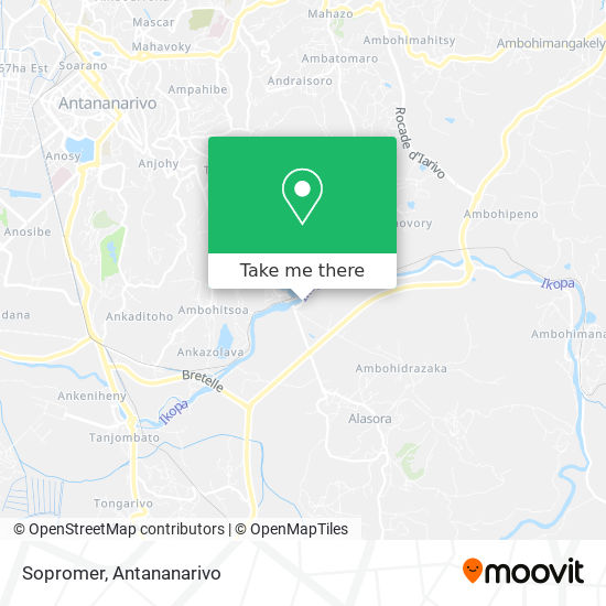 Sopromer map
