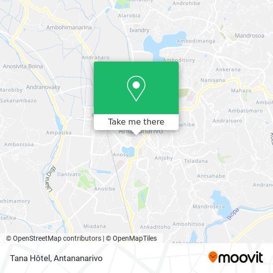Tana Hôtel map