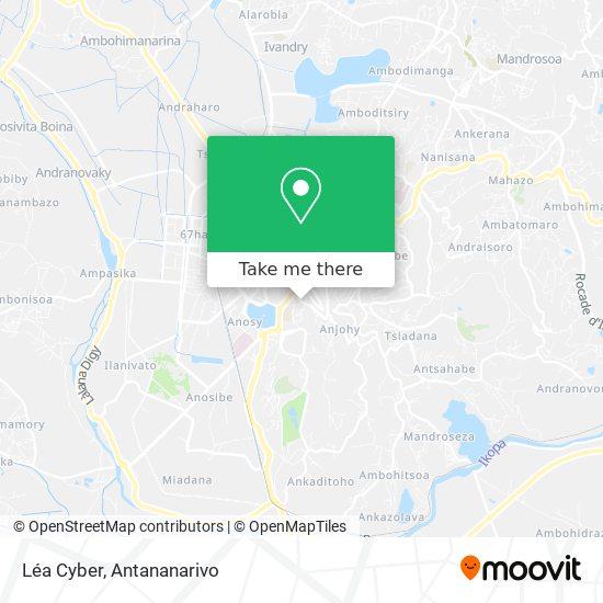Léa Cyber map