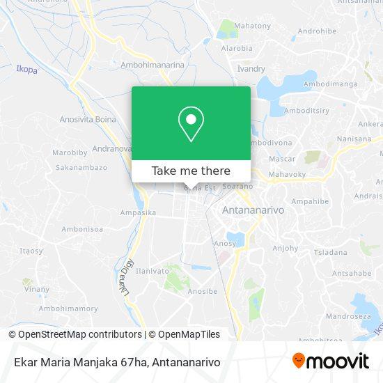 Ekar Maria Manjaka 67ha map