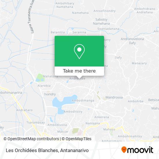 Les Orchidées Blanches map