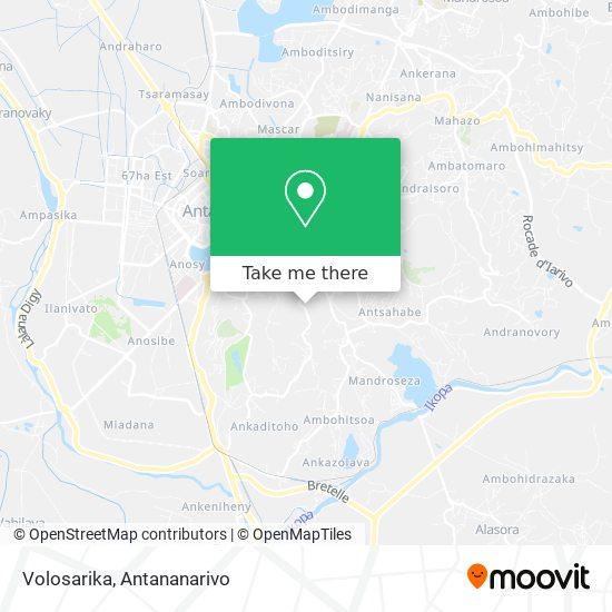 Volosarika map
