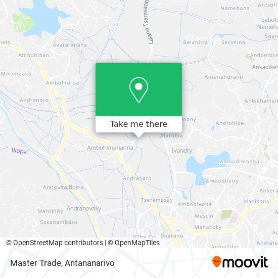 Master Trade map